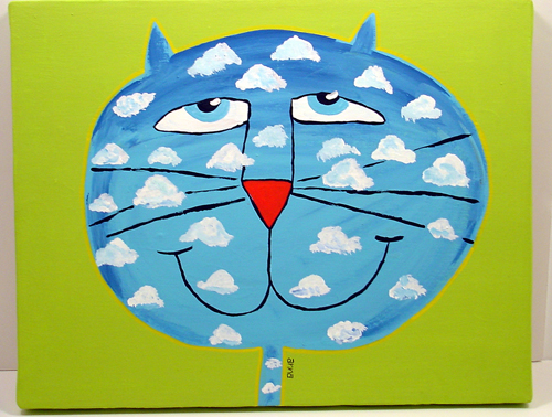 """Sky Cat"" by Anna"