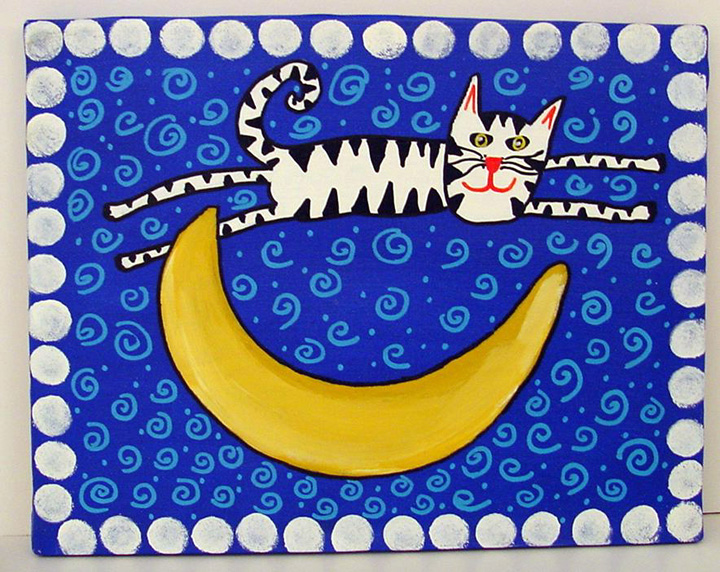 """Cat Moon"" by Anna"