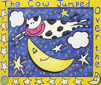 """Cow Jumped Over The Moon"" by Anna"