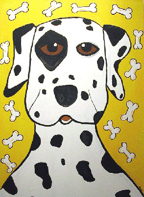 "Click here to go to larger image of ""Dalmation"""