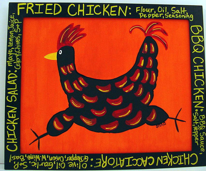 """Fried Chicken #1"" by Anna"