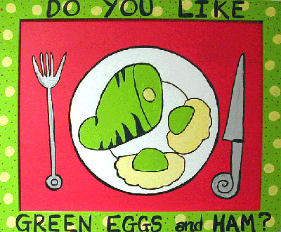 """Green Eggs and Ham"" by Anna"